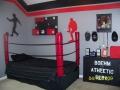 Индивидуальная детская комната со спортивным уголком