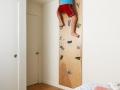 Простые спортивные уголки в детскую комнату