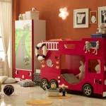 Интерьер детской комнаты для мальчика-подростка – Пожарная.
