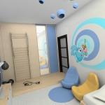 Интерьер детской комнаты для мальчика 6 лет «на вырост»