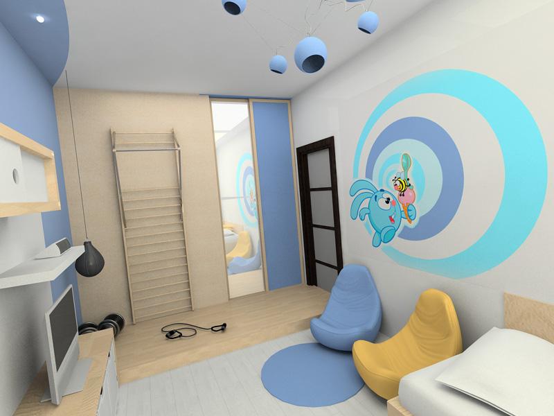 Идеи дизайна для детской комнаты мальчика