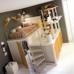 Детская комната 12 кв м интерьер фото неизбитого решения