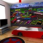 Драйвовый интерьер детской комнаты для мальчика 5 10 лет