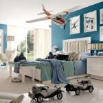 Интерьер детской комнаты для мальчиков фото самолетов