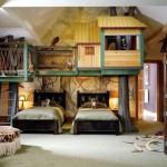 Интерьер детской комнаты фото в приключенческом стиле