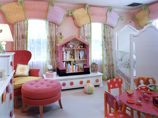 Интерьеры детской комнаты для девочки своими руками
