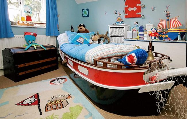 Маленькой детской комнаты для