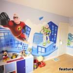 Яркий интерьер детской комнаты для мальчика 3 лет фото