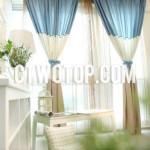 Оформление штор в детской комнате фото с изумительной окантовкой