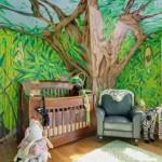Пейзажные картинки интерьер детской комнаты в эко стиле