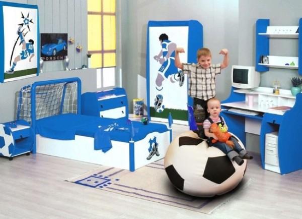 Правильный дизайн детской комнаты для двоих детей