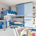 Проект интерьер детской комнаты большой площади
