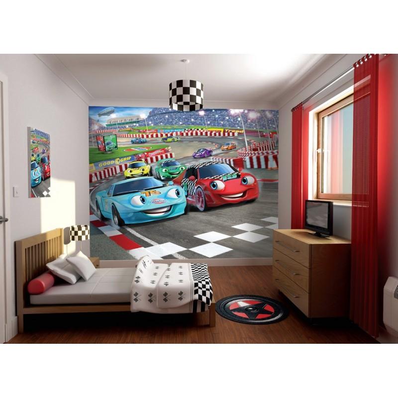 Разных цветов обои для детской комнаты для мальчика 7 лет.