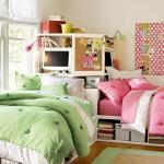 Смежный дизайн детской комнаты для разнополых детей