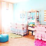 Совмещенный дизайн детской комнаты для разнополых детей
