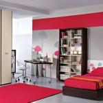 Современный интерьер детской комнаты девушки