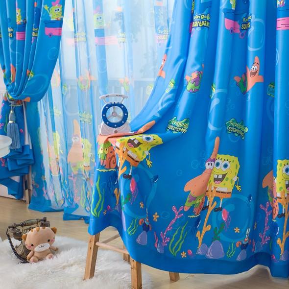 Стиль и дизайн для шторы для детской комнаты мальчика
