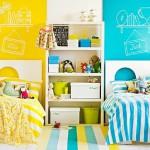 Стильный дизайн детской комнаты для разнополых детей