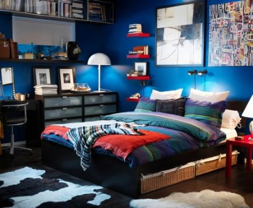 Светлый интерьер комнаты для подростка мальчика