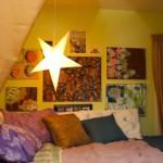 Звездочки в интерьер детской комнаты для девочки подростка