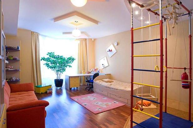 Детская комната для разнополых разновозрастных детей 18 кв м идеи фото