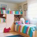 дизайн детской комнаты для троих разнополых детей