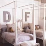 дизайн маленькой детской комнаты для двоих детей фото