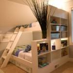 дизайн малогабаритной детской комнаты для двоих детей