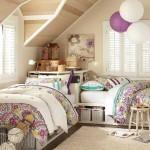 варианты дизайна детской комнаты для двоих детей