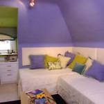 Дизайн детской комнаты для двух девочек фото в хрущевке
