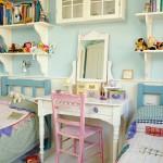 Дизайн детской комнаты для двух девочек морской тематики