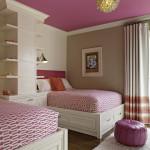 Дизайн детской комнаты для двух маленьких девочек