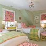 Дизайн проект детской комнаты для двух девочек Белоснежка