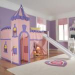 Дизайн проект детской комнаты для двух девочек Замок