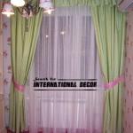Готовые шторы в детскую комнату для девочки