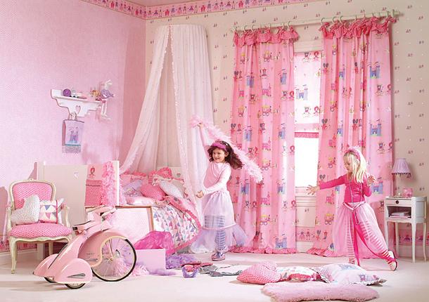 Как оформить дизайн детской комнаты для двух девочек