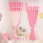 Классические шторы в детскую для девочки