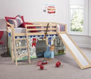 Двухъярусная мебель для детской комнаты для мальчиков