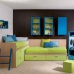 Мебель для детской комнаты для мальчиков правильных форм
