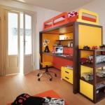 Мебель для детской комнаты для мальчиков солнечных цветов