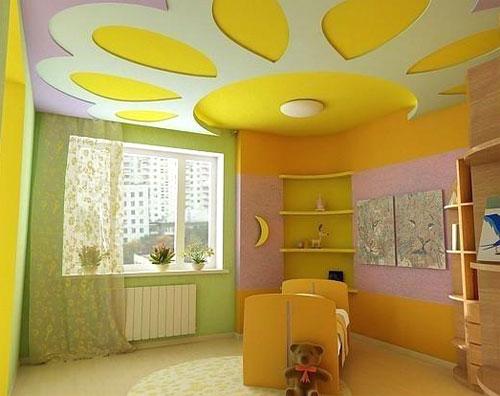 Как выбрать цвет стен в детской комнате
