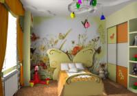 Оформление комнаты и детская мебель белая