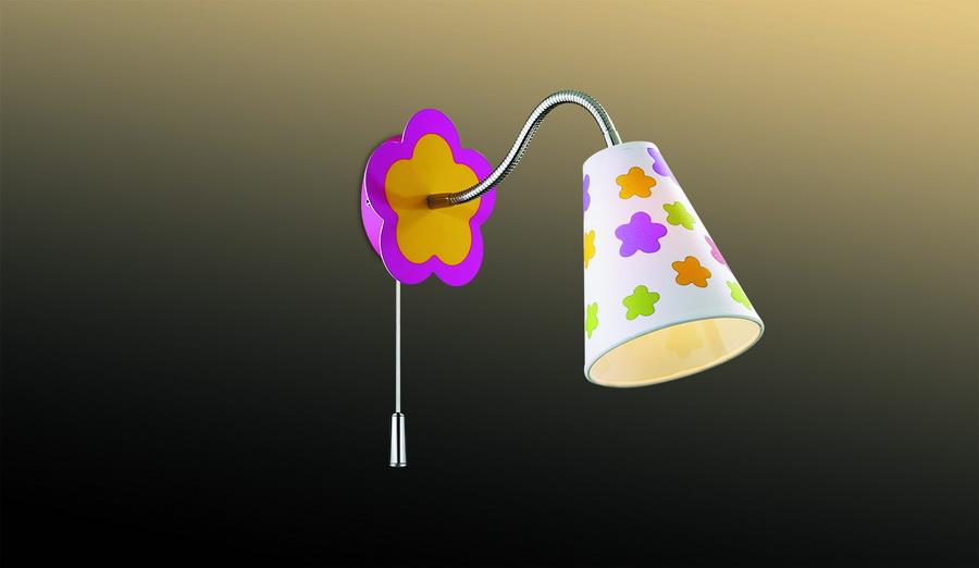 Детский настенный светильник как предмет интерьера