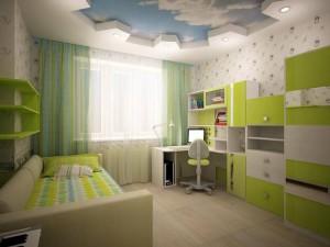 Детская мебель белая в минимализме