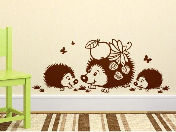 Детские наклейки на мебель и другие варианты украсить интерьер