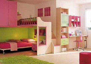 Ростомер детский в детской комнате