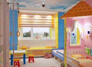 Мебель детская для двоих для мальчика и девочки