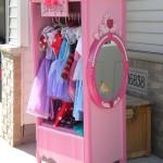 Мебель детская комната для девочки в нежных тонах