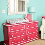 Светлая мебель для детской комнаты девочки 7 лет