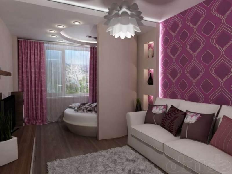Создаем зонирование комнаты на детскую и гостиную фото примеры
